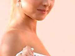 elegant blonde beauty casting