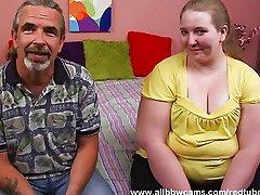 Fat vagina blonde swallows penis juice