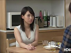 Sexy Sana gets to be fucked by husband at their home making her moan