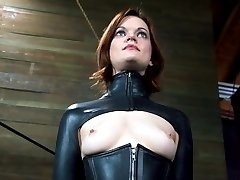 Hazel Hypnotic is not just an average bondage lover. Just the thought of doing live BDSM for an...