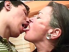 Kissing Grandma mature mature porn granny old cumshots cumshot