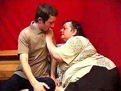 Fat Granny Fucks Young Man