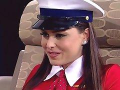 when stewardesses go lesbians