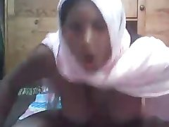 Arab Hijab girl on cam
