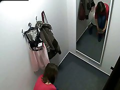 Beautiful Czech Teen Snooped in Changing Room