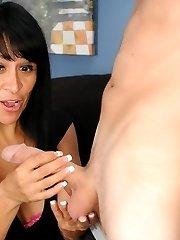 Step Mom handjob With Isabella Montoya - Over 40 Handjobs Videos