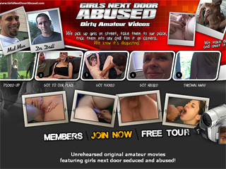 Girls Next Door Abused