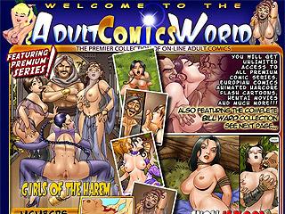 Adult Comics World