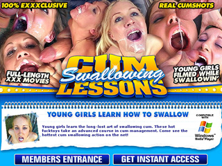 Cum Swallowing Lessons