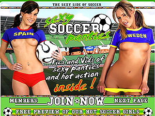 Sexy Soccer Panties