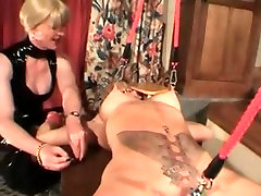 My Sexy Piercings - pierced MILF slave BDSM action