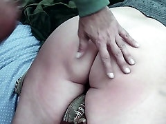 Home made creampie anal with booty milf