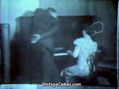 Piano Teacher gets Laid Today 1940s Vintage