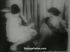 Old Man Shaves and Fists Girl&039;s Cunt 1930s Vintage