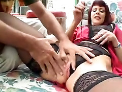 Horny mature Redhead needs a big fat cock in old pussy