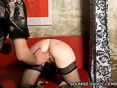 soumise sandy french bdsm fist fucking vaginal