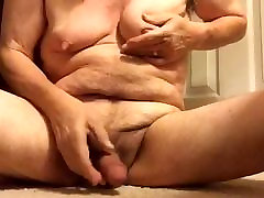Artemus - Big Tits and Nipple Play Jerks Off Cum