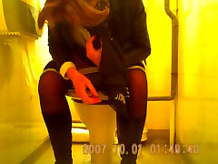 very attracive mature in black panties spied in toilets sazz