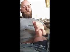 Bear Cums In Beard again!