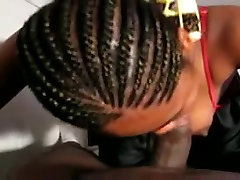 Black Girl Sucks Small Black Dick