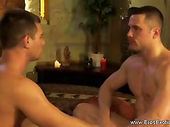 Massage and Fucking After