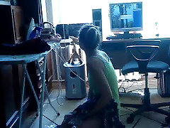 Amateur Teen Girl with Blue Bikini
