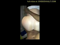 Huge Booty White Girl Enjoying Black Cock