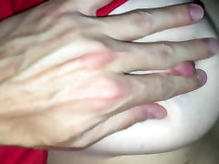 Wife with big tits gets anal fuck