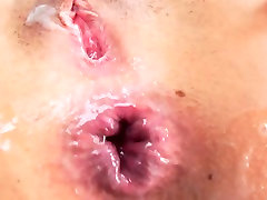 Perfect Asian cumslut Morgan Lee gets her tight ass fucked