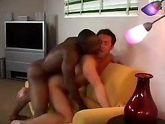 White Dude Loving Big Black Cock