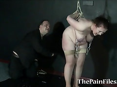 Fat slavegirls needle naomi russel gang bang and extreme tit tortures of sub