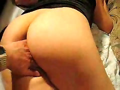 Play with ass and pussy up to orgasm