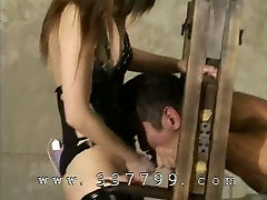 First time school girl on woman Queen Mayumi Asou in Mistress Land