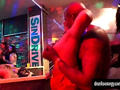 Excited bisexual pornstars fucking at sex party