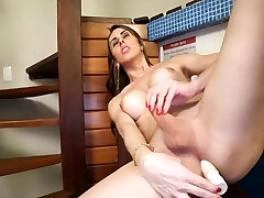 Sweet girl with cock needs a good fuck