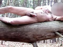 Slow Motion Multiple Orgasms on a Log - Spunk is Sexy 8