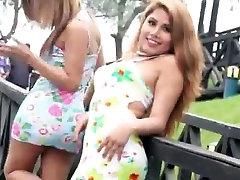 Outdoors sissy Ladyboys