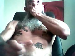 old bear cumming for daddy