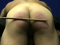 20 cuts of the cane muscle guy&039;s ass hard caning