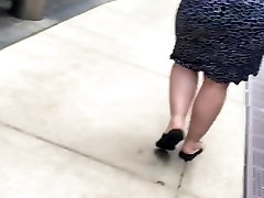 Bbw big booty pawg in dress 3
