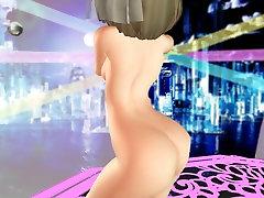 MMD Peach Fuzz Open Pussy Nice Tits Sweet Ass POV GV00208