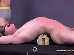 Twink Double Whipped BDSM Gay Bondage Flogging