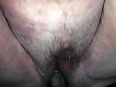 Hairy wet white bbw pussy