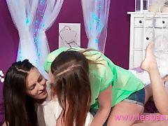 Lesbea Cute girl next door eating pussy of mature woman
