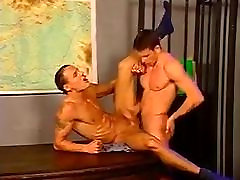 Foursome in Police Station