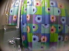 Russian girlfriend in hidden cam in shower 3