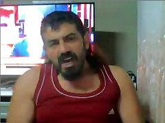 Daddy cum on webcam Maduro eyaculando en la webcam