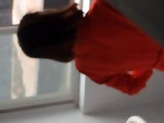 bath voyeur4 preview1red high heel black stocking