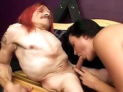 freaky crippled midget with babe 2