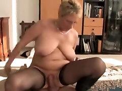 Hot German Granny Pounded Hard